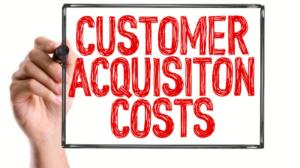 average cost per customer acquisition