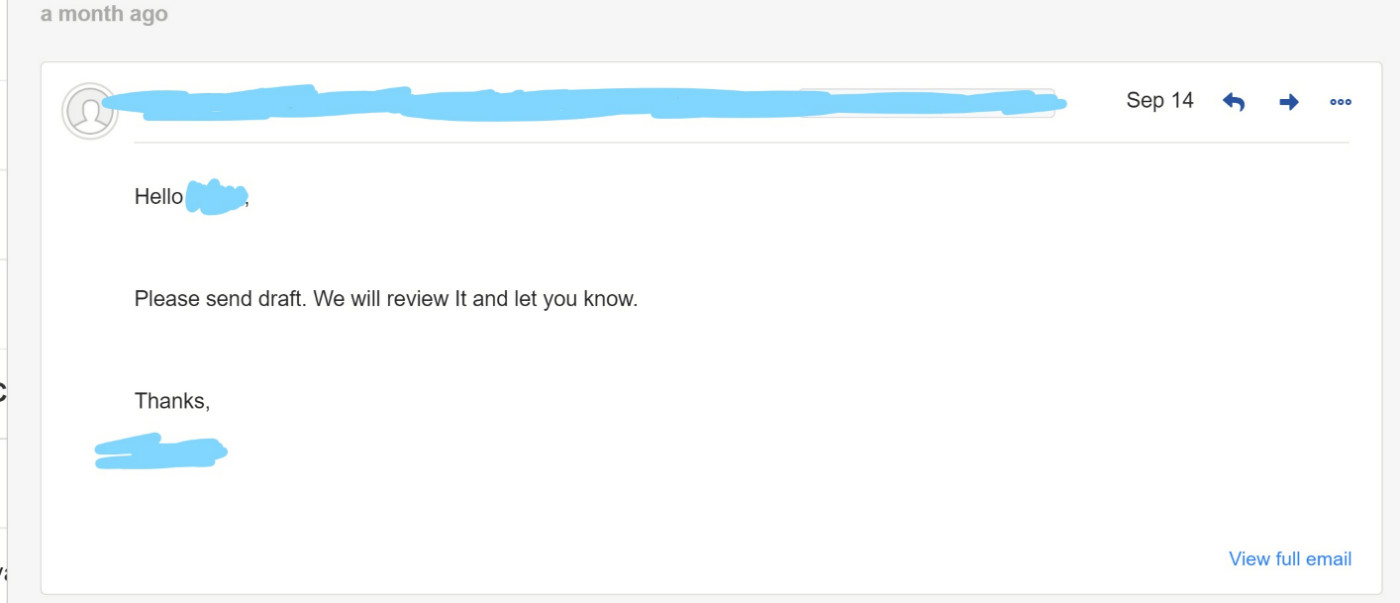 reply #1 received from code signing store outreach